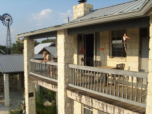 Enjoy Spectacular Central Texas Hill Country Sunsets And Views From The Balcony